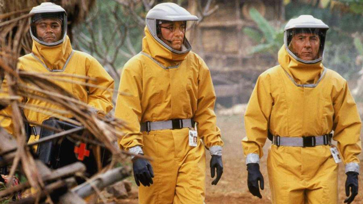Scene from the 1995 movie Outbreak