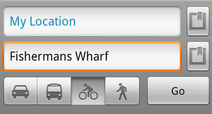 Google Maps for Android gets biking directions.