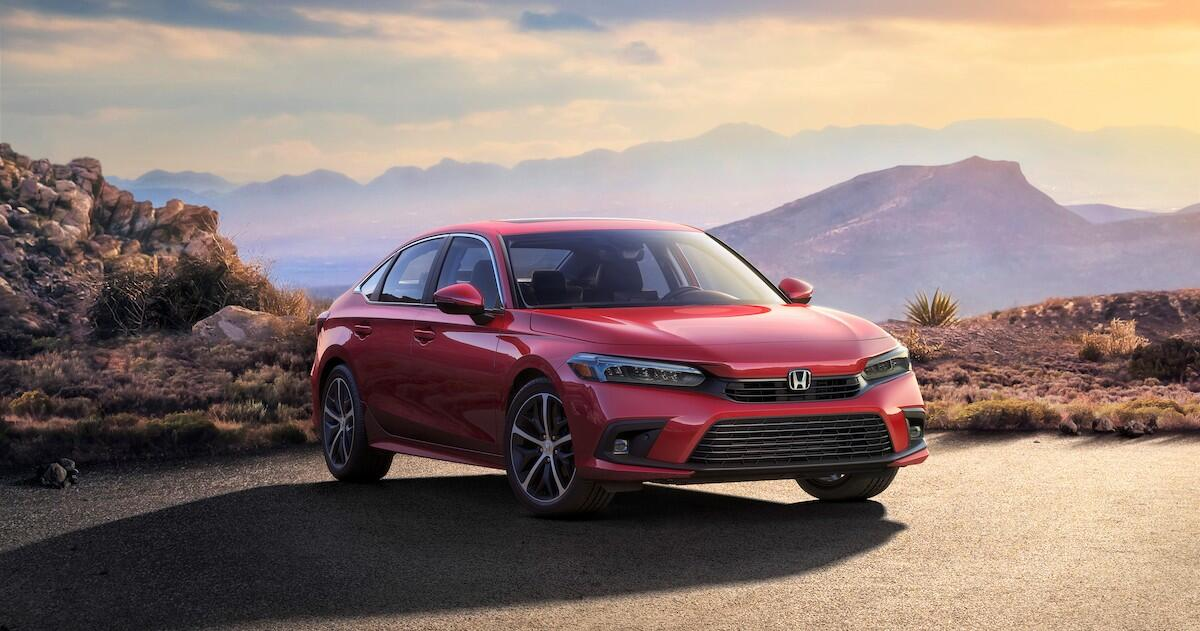 Honda offers us a first look at the 2022 Civic sedan  image
