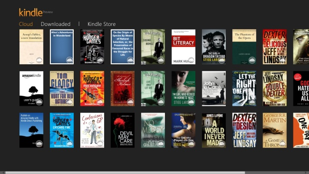 Top 10 Windows 8 Apps: Kindle