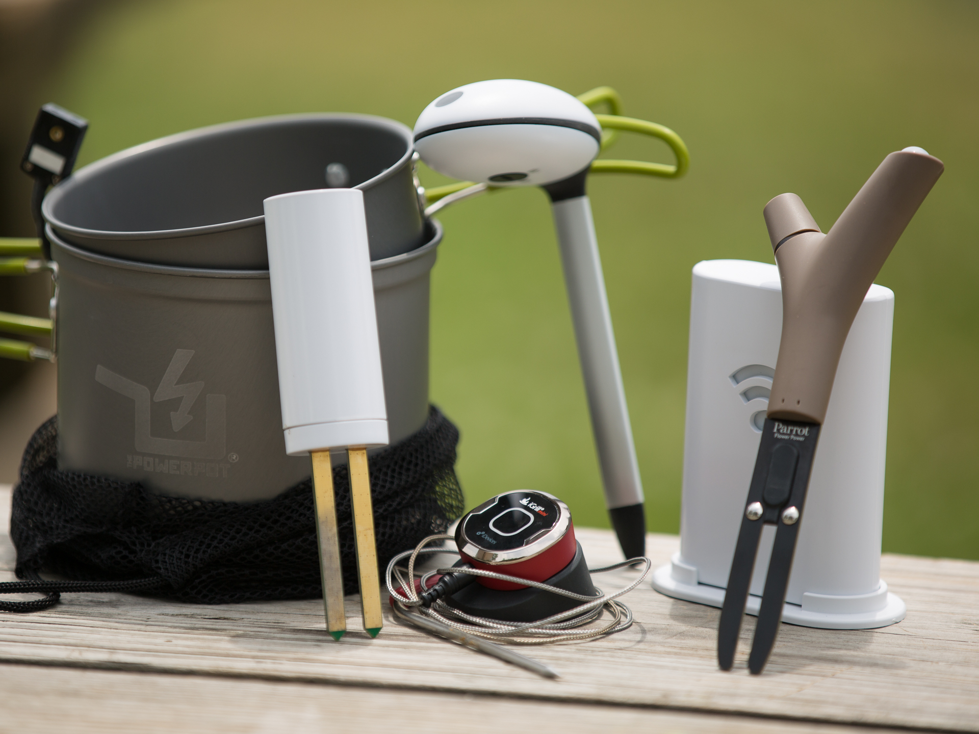 A slew of smart outdoor devices