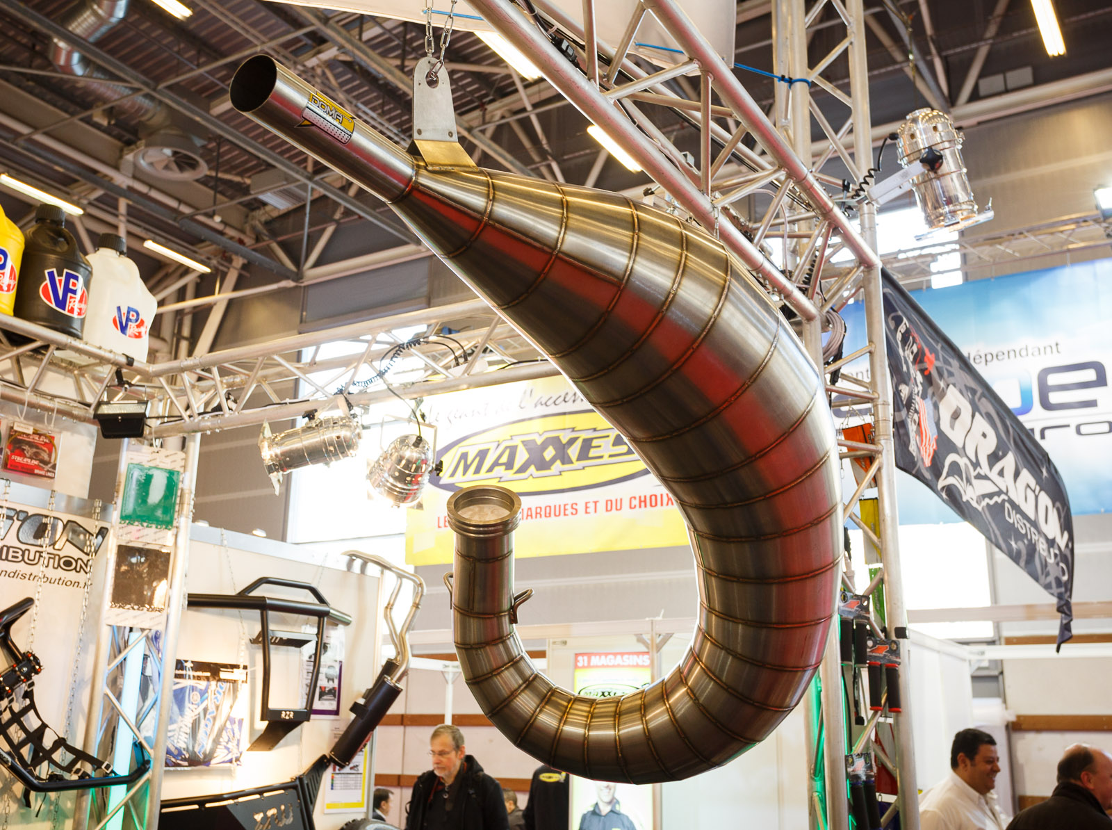 Doma Racing exhaust system