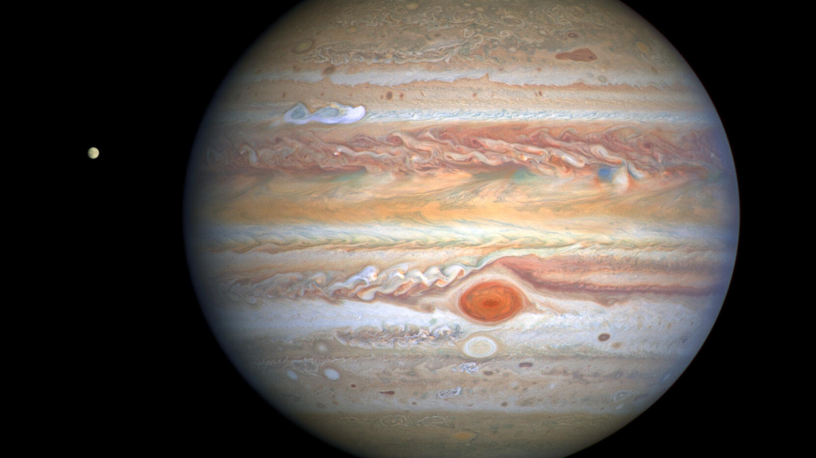The  Great Red Spot is speeding up. Scientists aren't sure why