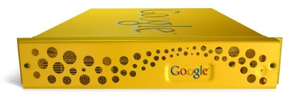 The Google Search Appliance is based on Dell server hardware and Google software.