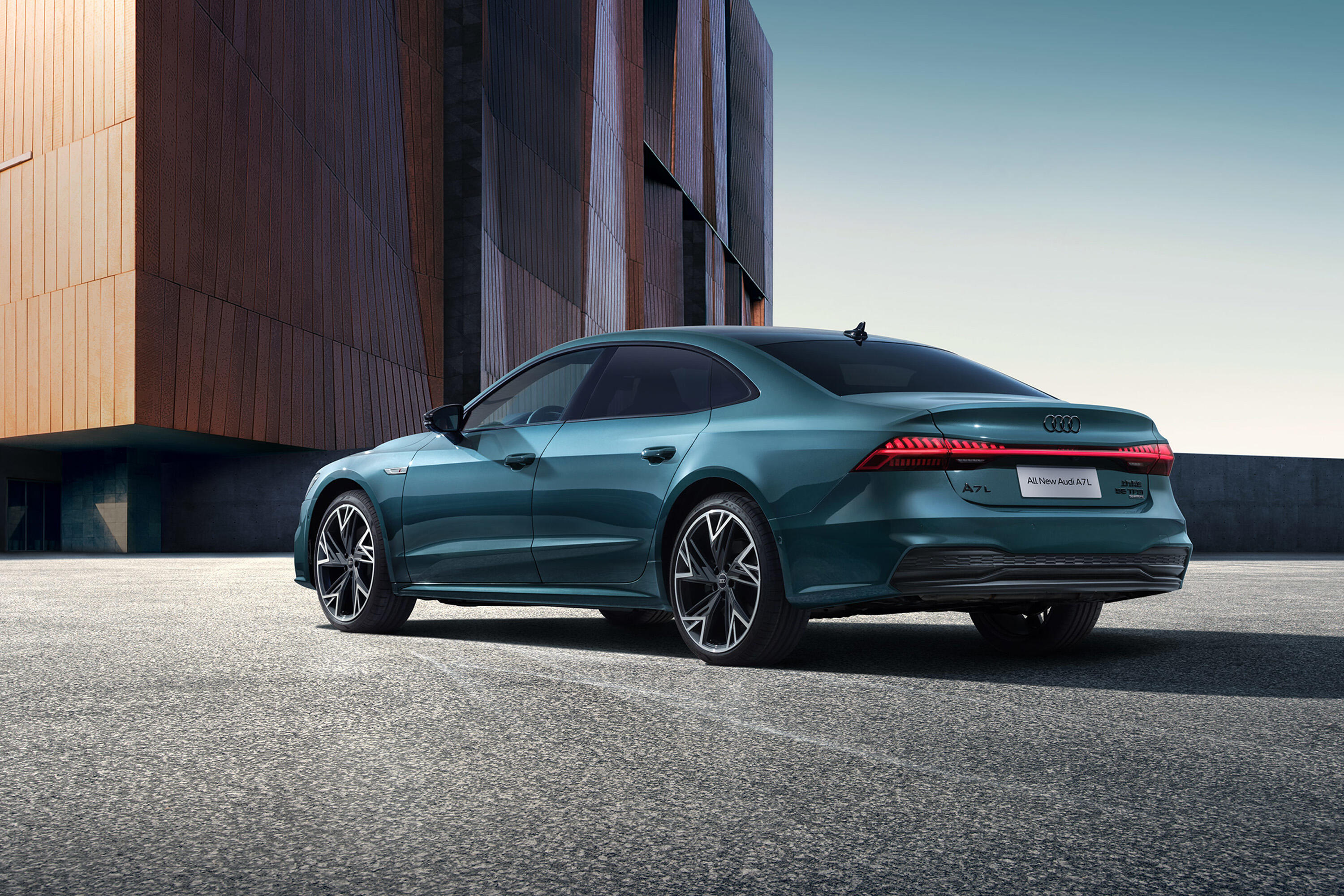 The Audi A7L can stay in China because it looks super odd     - Roadshow