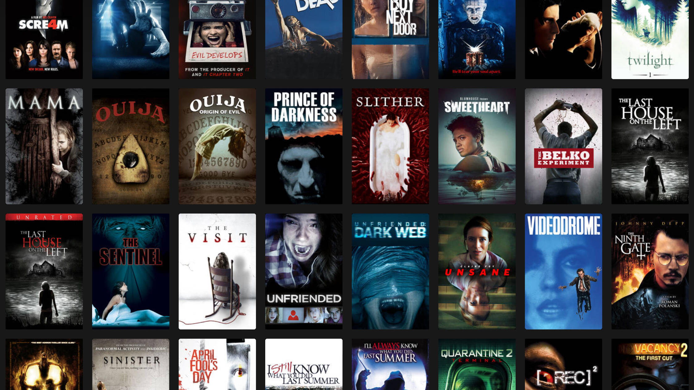 A Number of Medical Horror Films to Watch in Qarantine