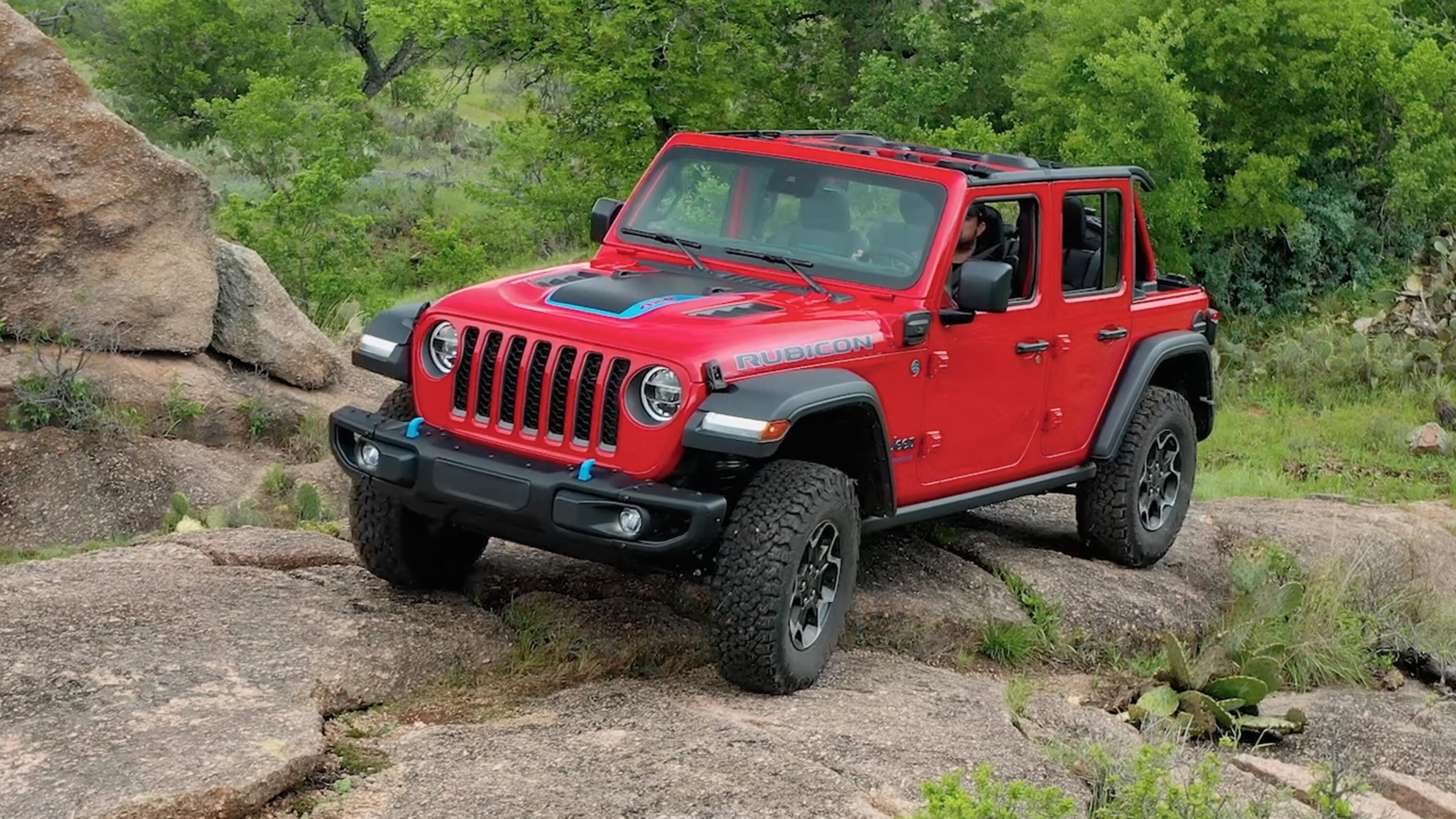 Video: 2021 Jeep Wrangler 4xe: A powerful, plug-in electric off-roader