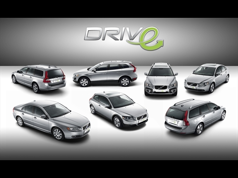 Volvo's seven vehicles sporting the fuel-efficient DRIVe badge