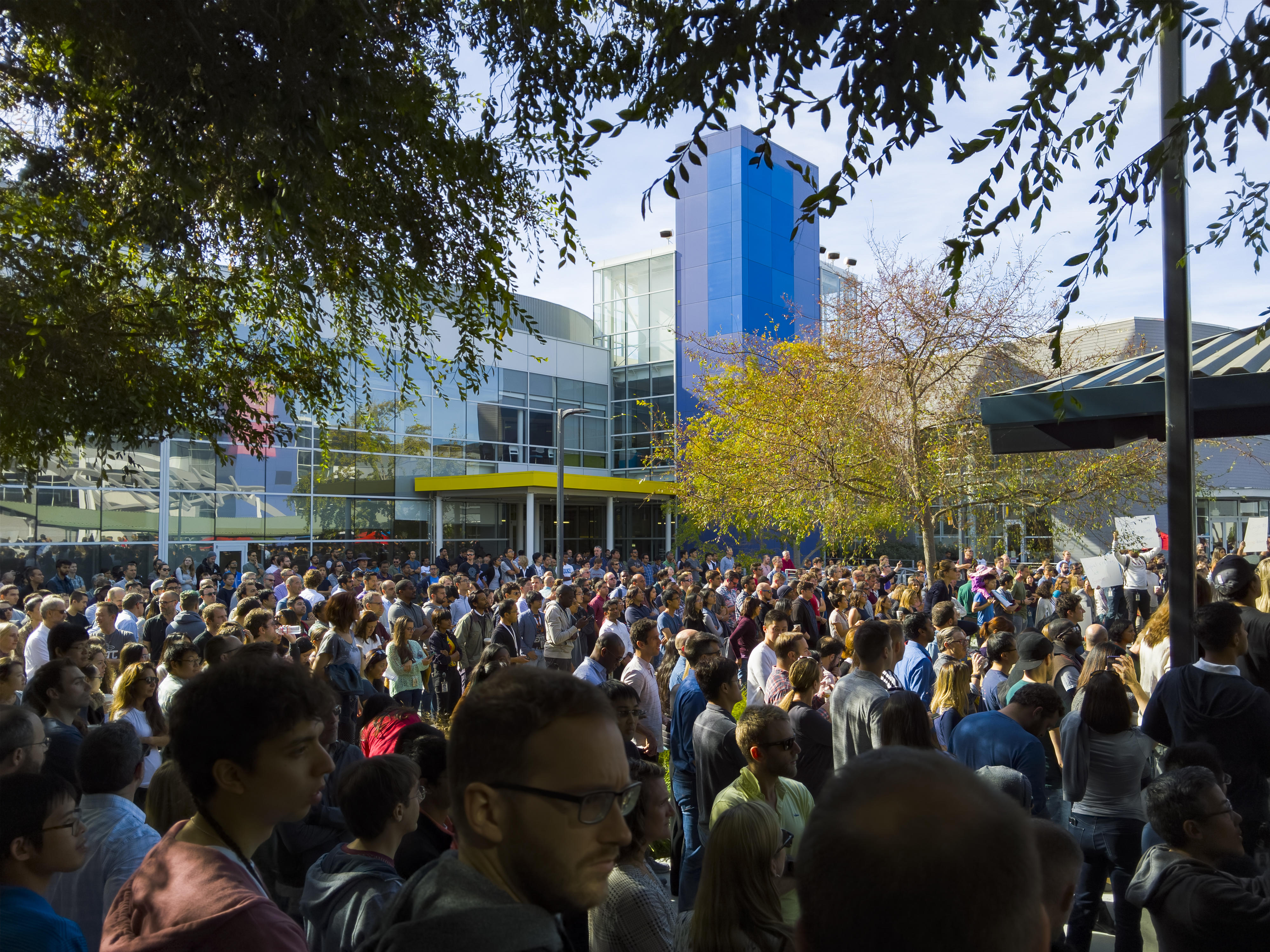 Google Walkout Me Too Protest