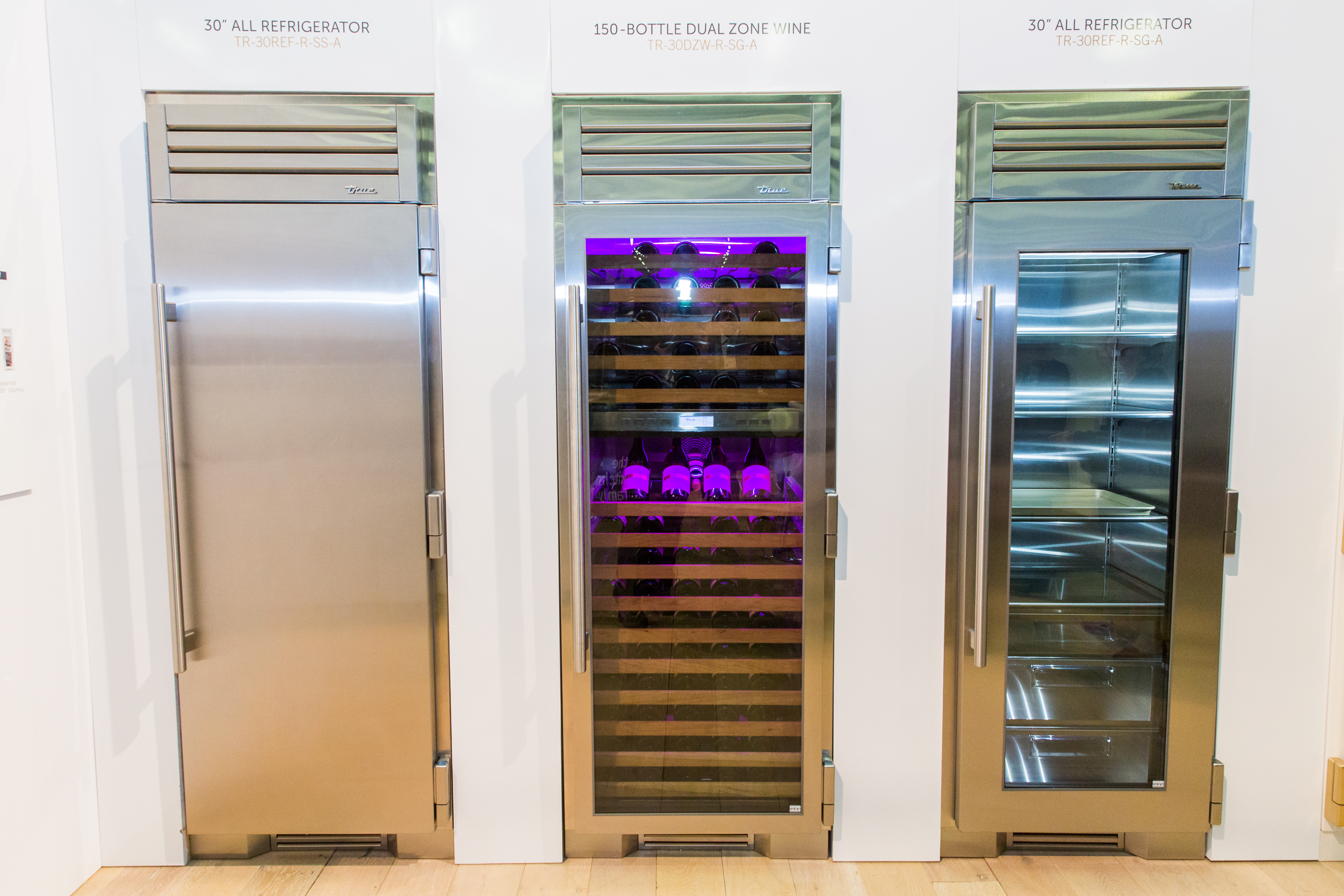 True Refrigeration columns
