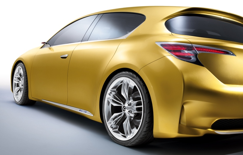 Lexus teases its LF-Ch concept. Could this be the return of exciting Toyotas? Probably not.