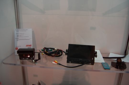 Sharpvision 7-inch LCD Quad Monitor System