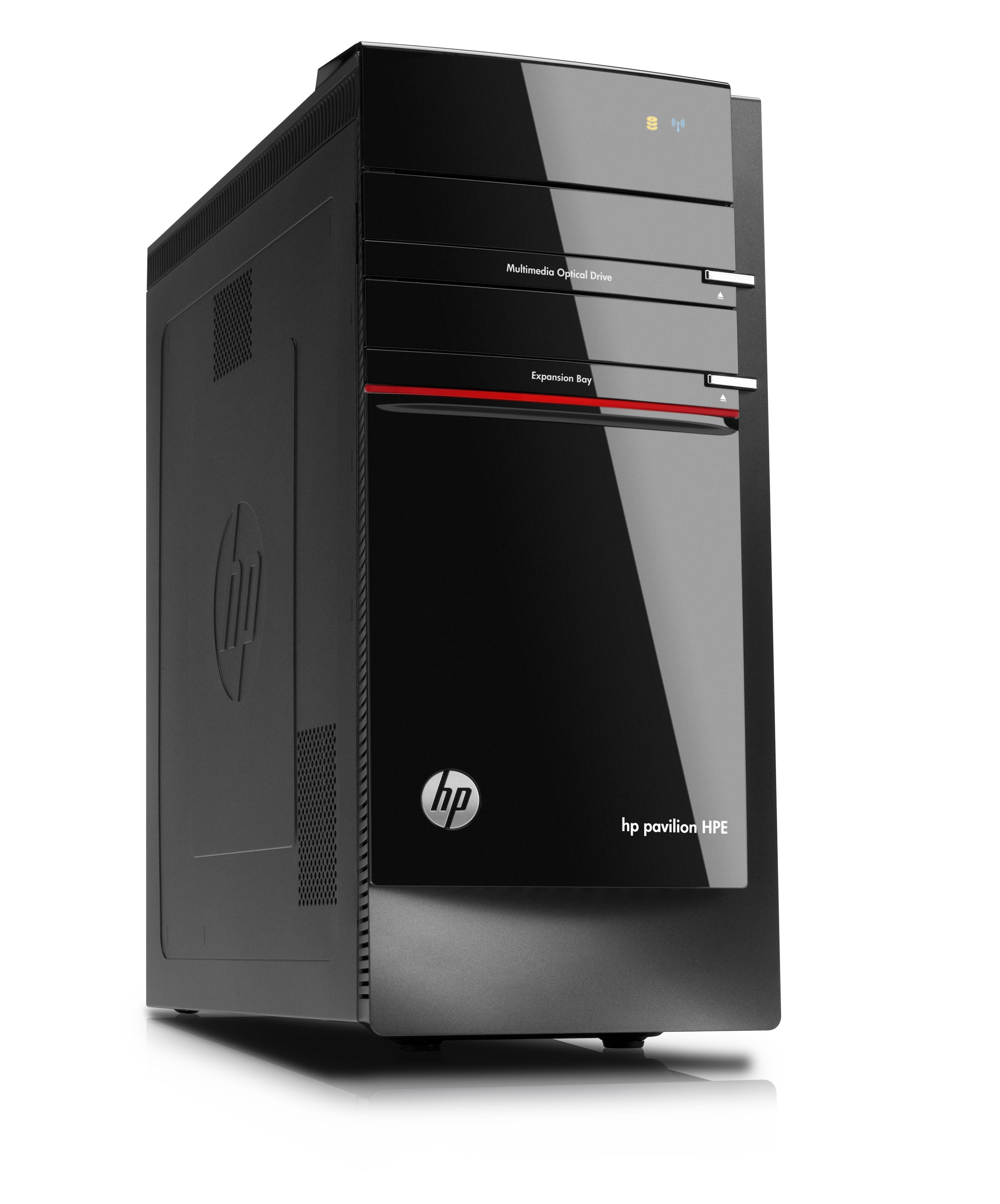 The Pavilion Elite received the biggest design overhaul of HP's new line-up.