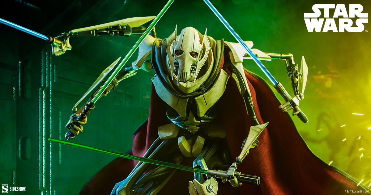 Sideshow's General Grievous statue will make an excellent addition to your collection.
