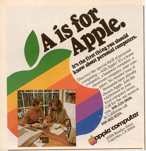 """""""A Is For Apple"""" Ads"""