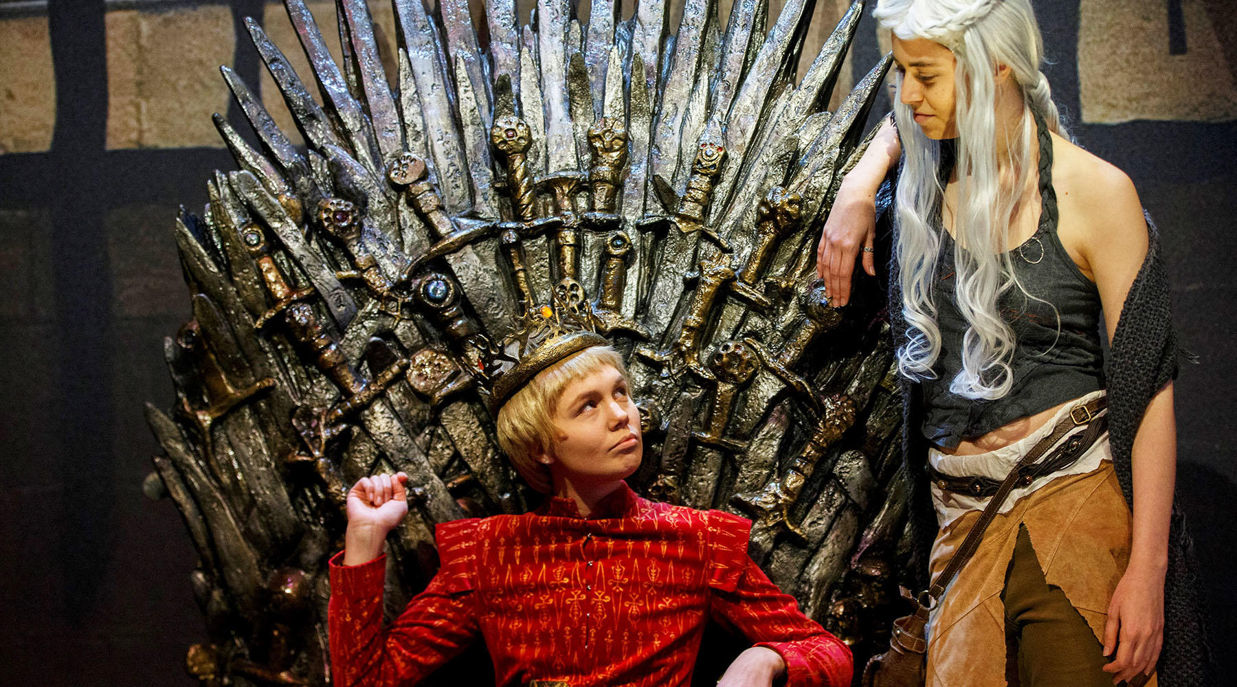 Cosplaying with the Iron Throne