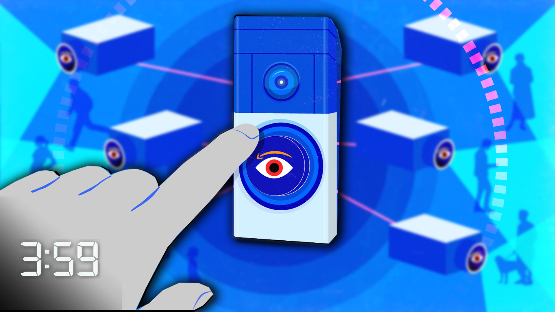 Video: Amazon's Ring cameras are building out surveillance for police (The 3:59, Ep. 566)