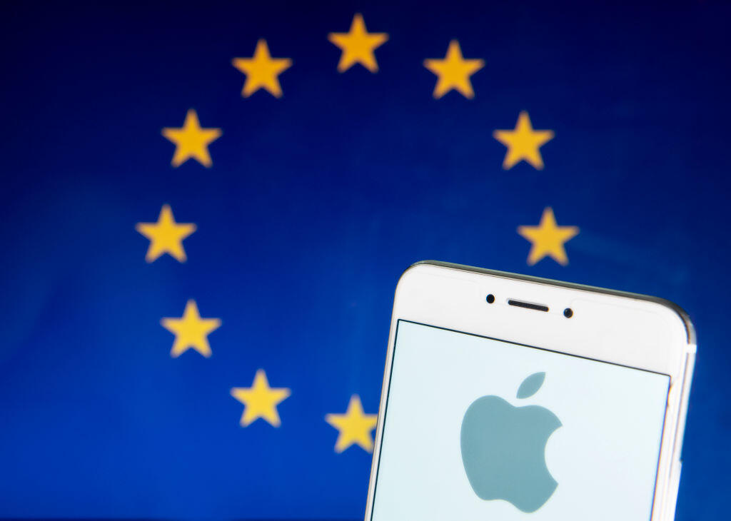 <p>Apple is under the microscope in Europe.</p>