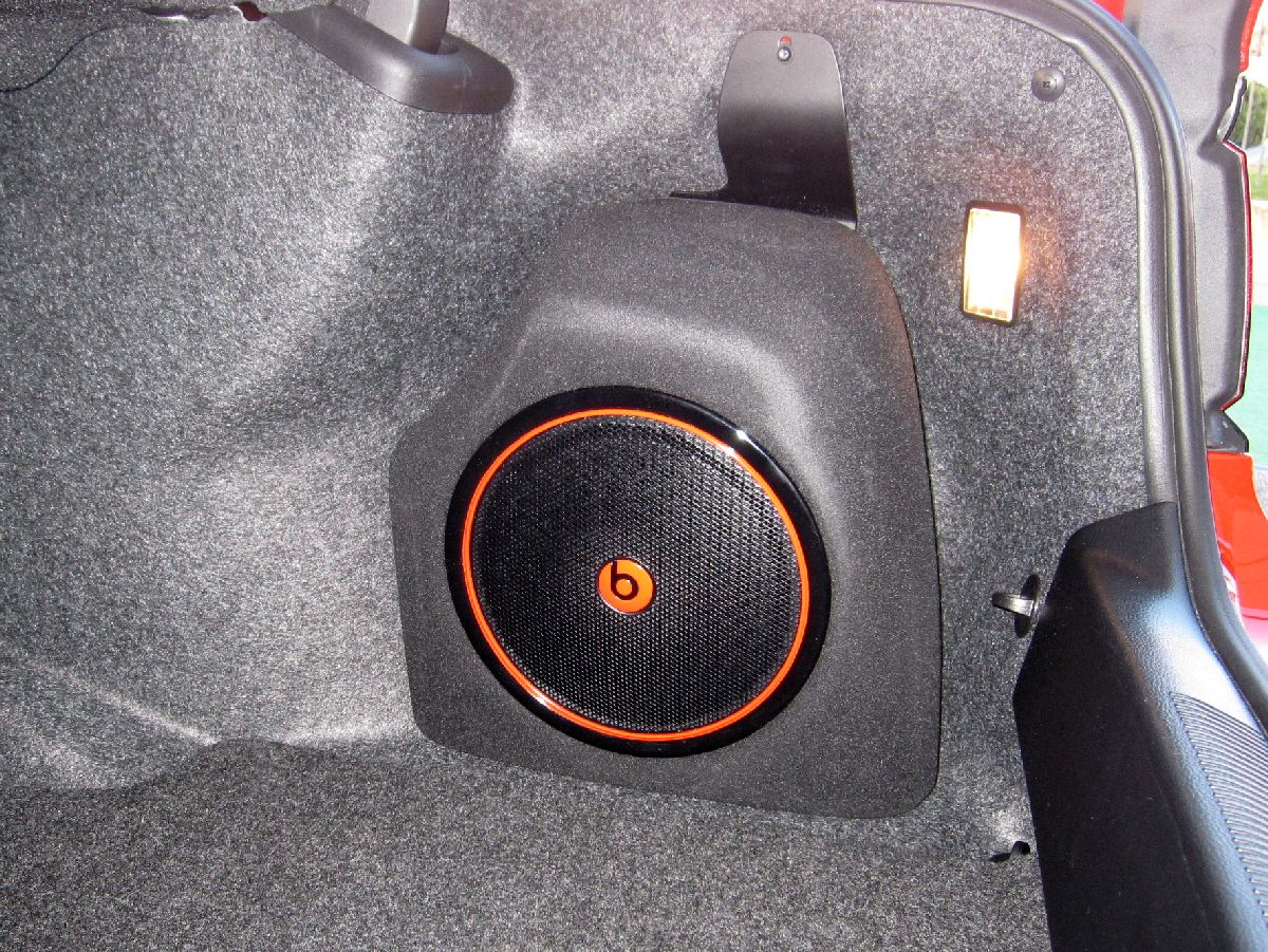 Beats by Dre in the Dodge Charger