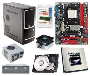 If you're a do-it-yourselfer, you can build a quad-core desktop for under $200.
