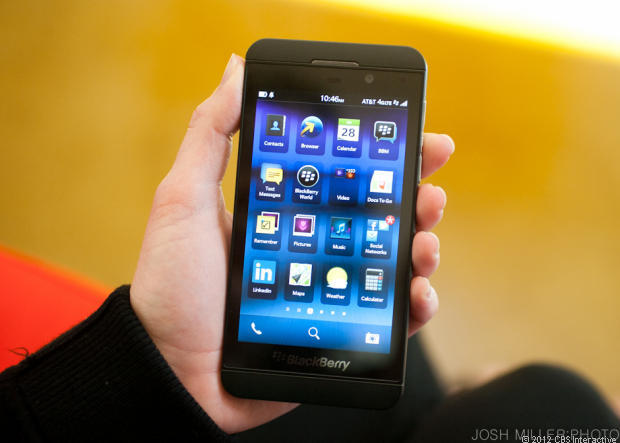 BlackBerry sold just 1.9 million smartphones last quarter, down from 3.7 million a year ago.