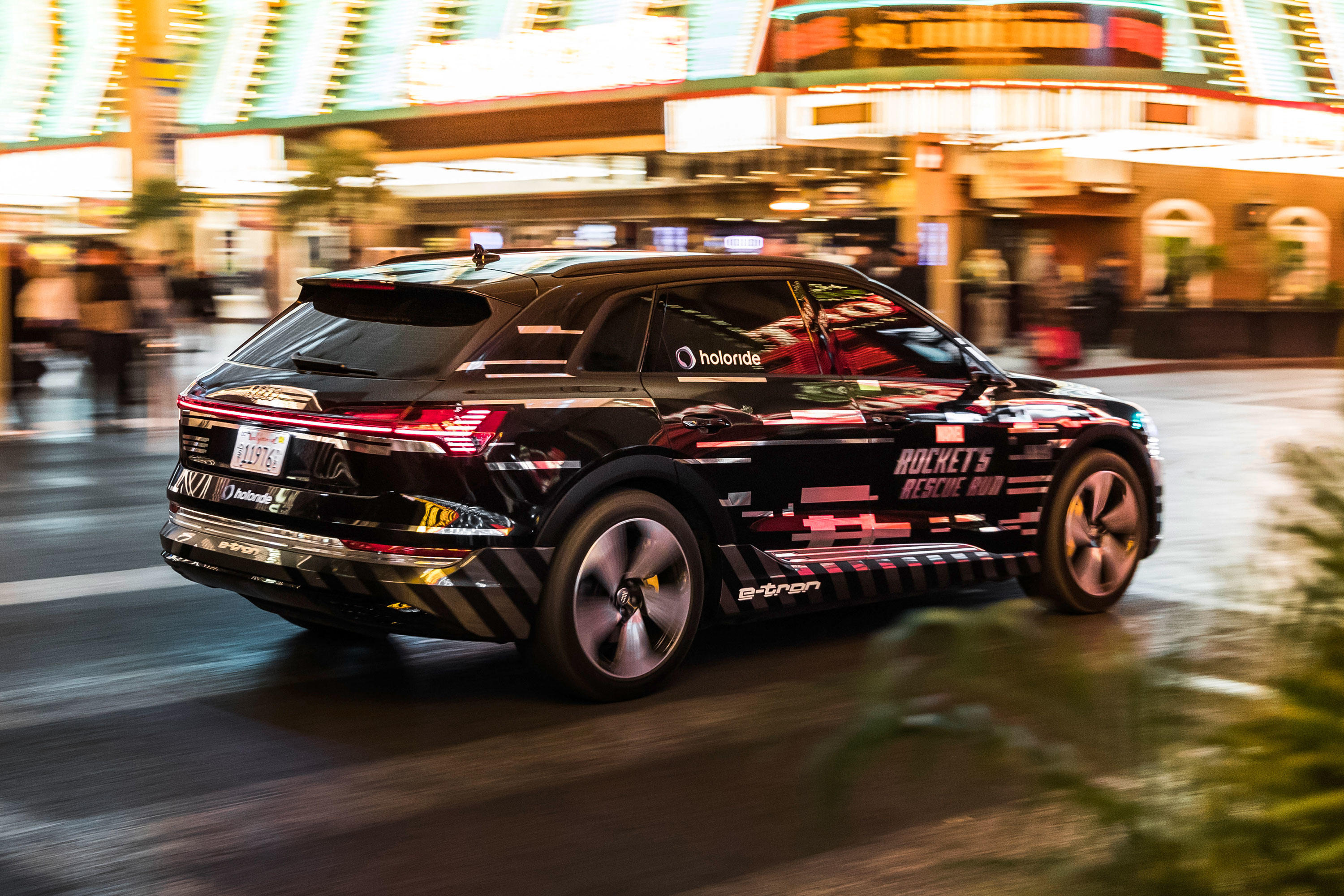 Audi and Disney's Holoride demonstration