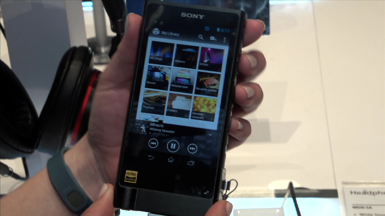Video: Sony's newest Walkman is for audiophiles only
