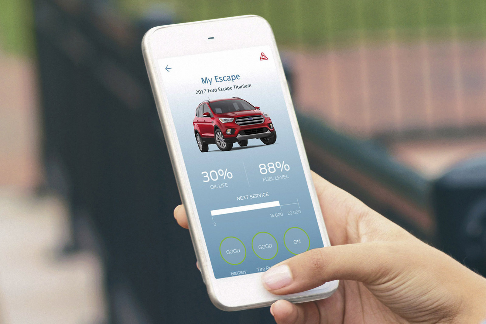 Ford Sync Connect Smartphone App