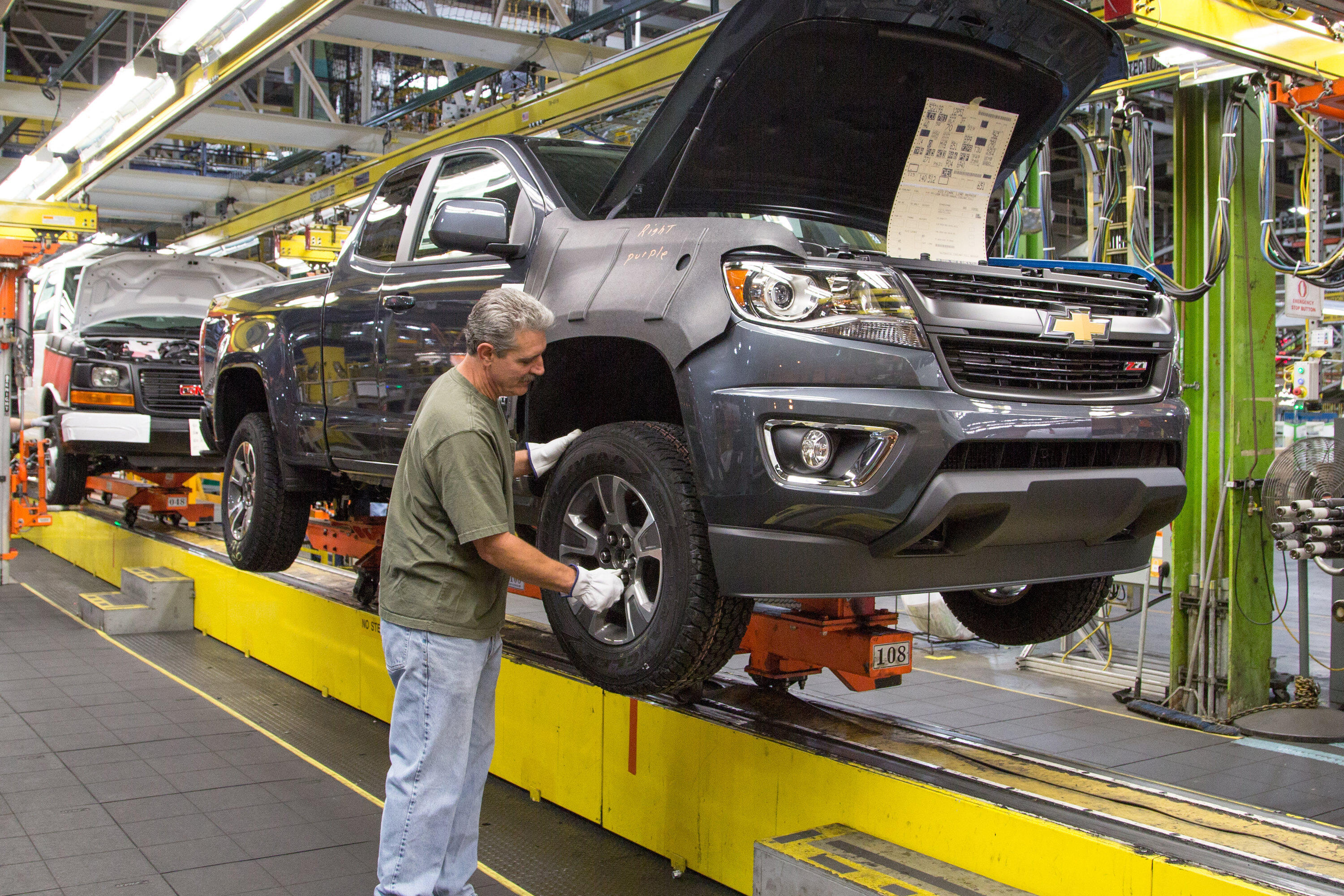 GM Wentzville assembly plant