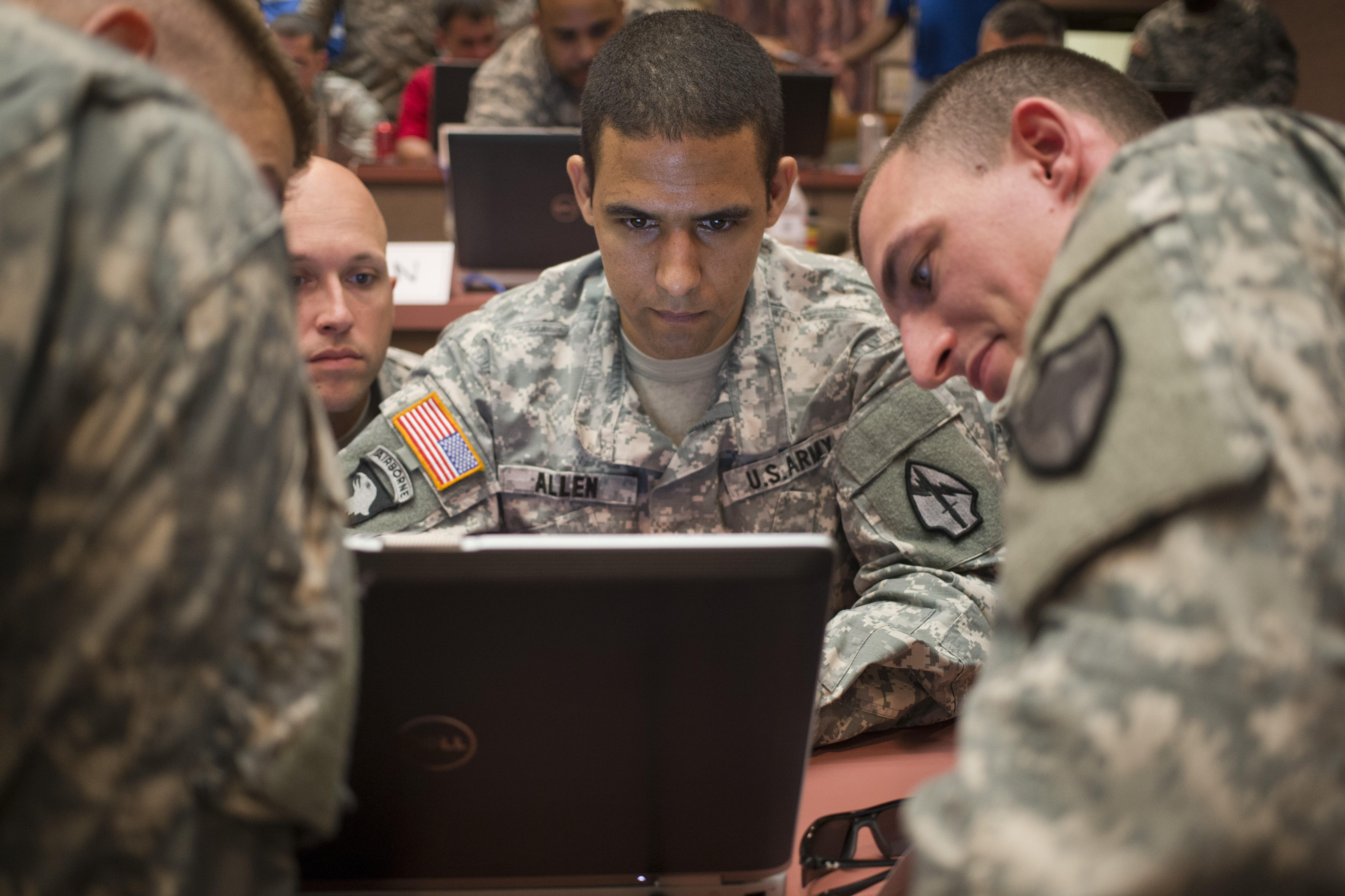 US Army cybersecurity exercise
