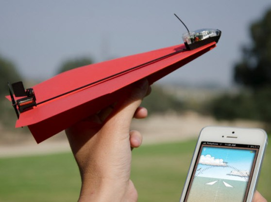 PowerUp 3.0 paper airplane system