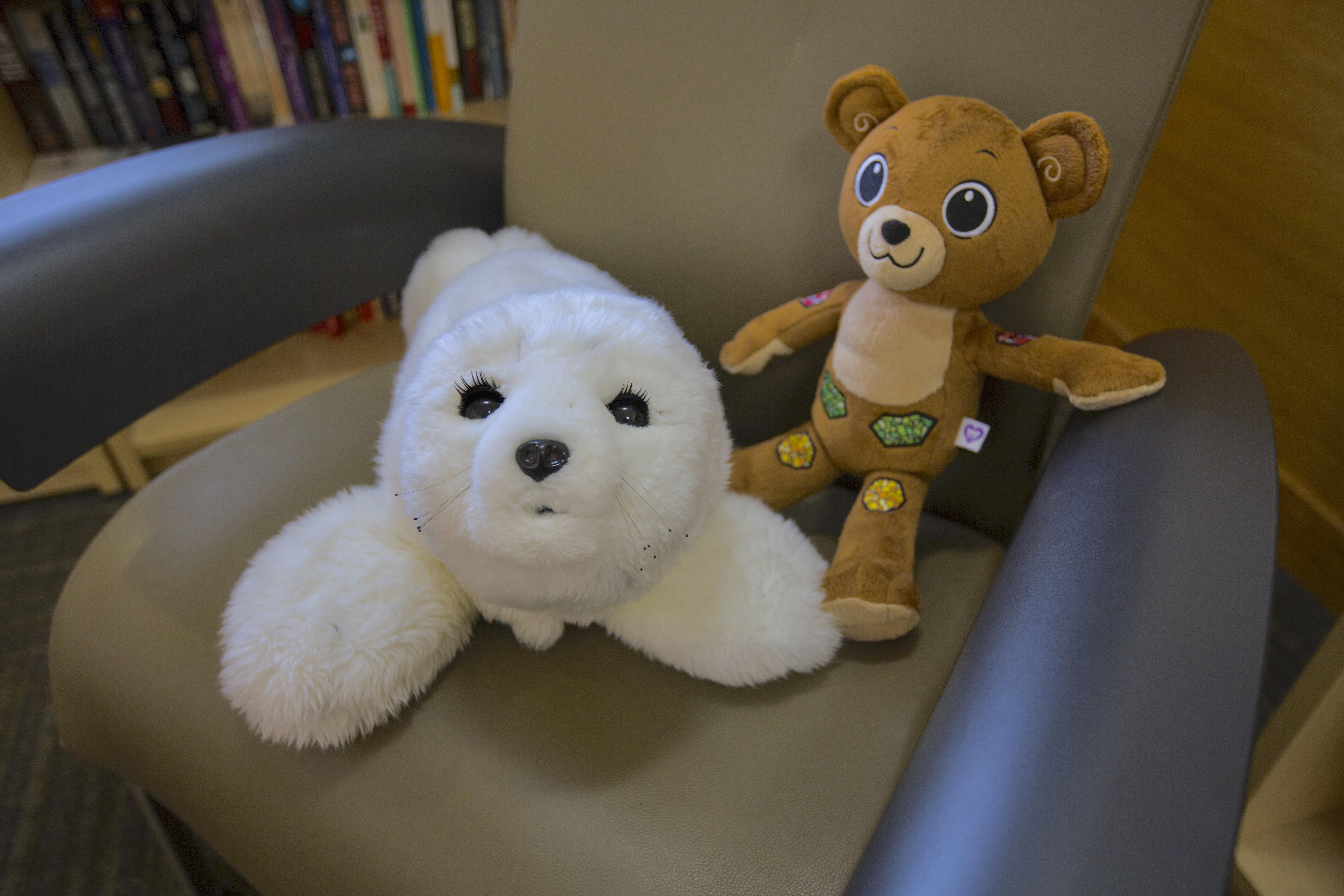 paro-seal-and-jerry-the-bear