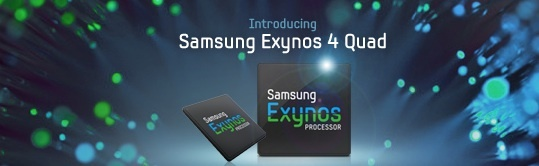 Samsung's quad-core Exynos chip is headed to a new Galaxy smartphone.