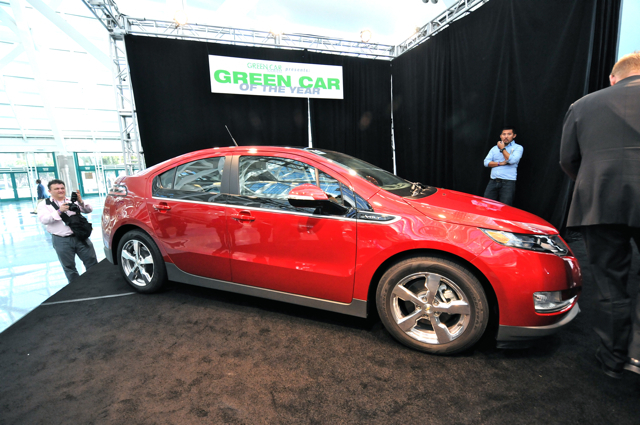 Chevy Volt Green Car of the Year