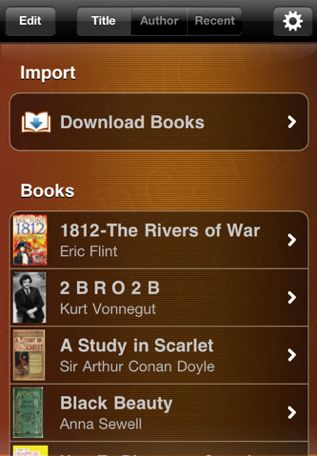 MegaReader provides easy access to 1.8 million free e-books.