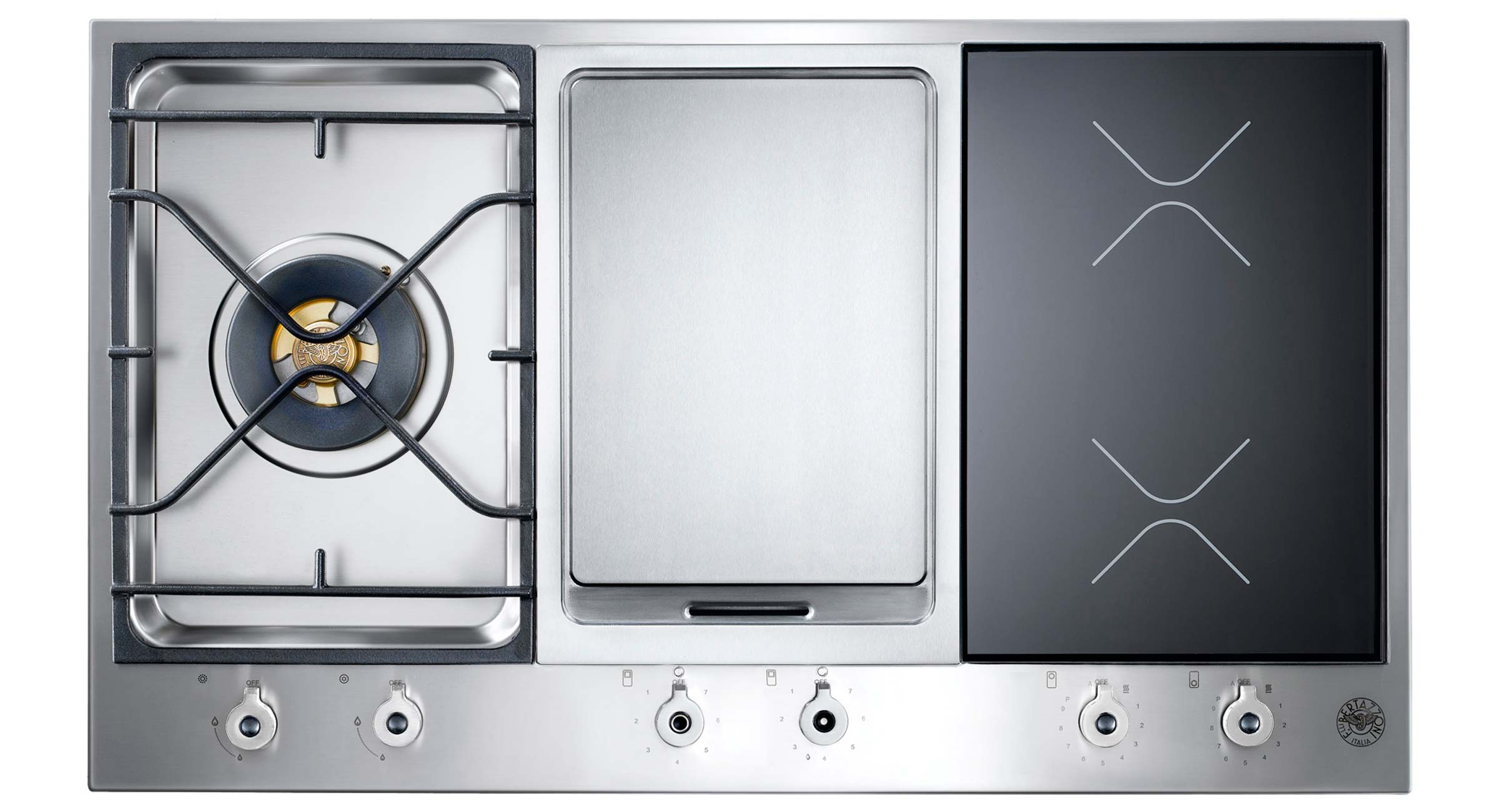 One cooktop that does it all.