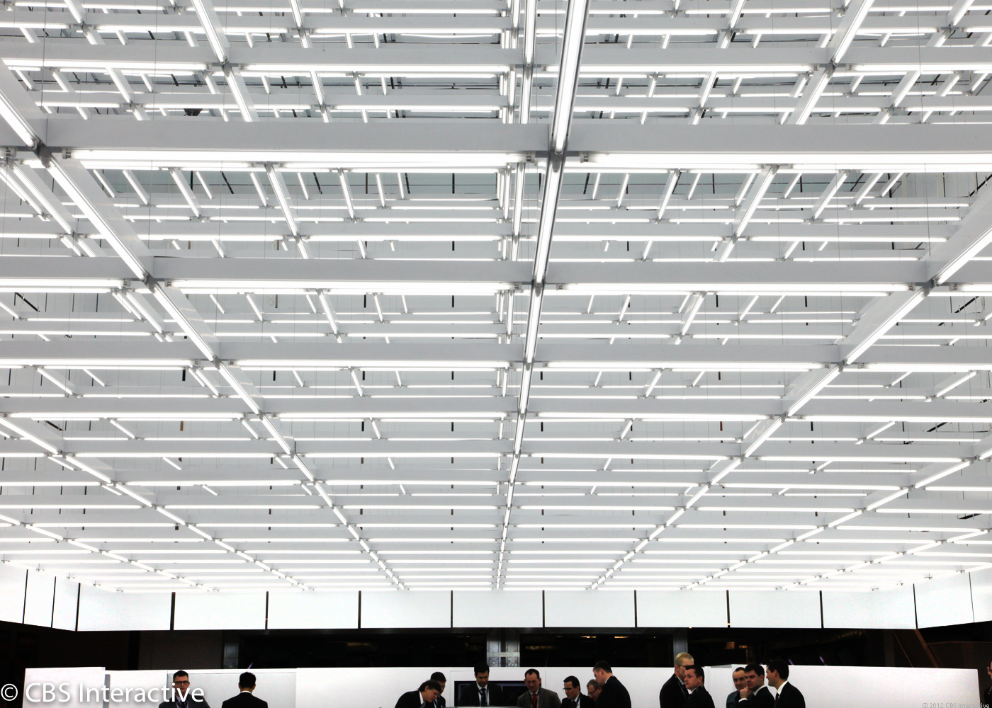 Ceiling of the Las Vegas Convention Center