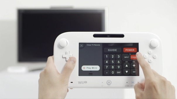 The Wii U will boast a GamePad offering full touchscreen functionality.