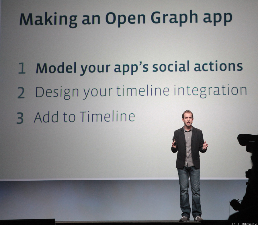 Facebook CTO Bret Taylor says at F8 that the main goal for Open Graph is to keep things simple.