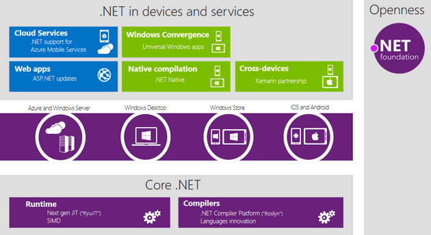 Microsoft's vision for the future of .Net.