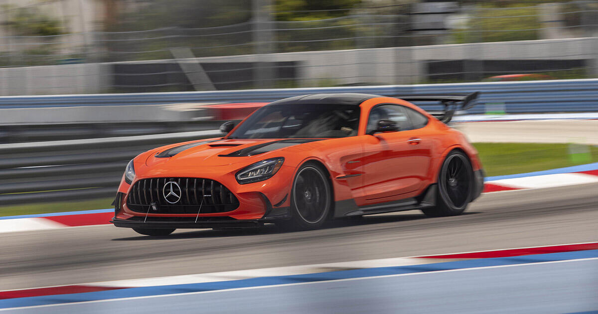 2021 Mercedes-AMG GT Black Series first drive review: Wolf in wolf's clothing     - Roadshow