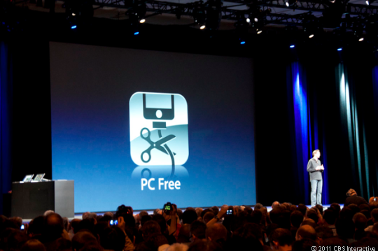 iOS-based devices are going PC-free.