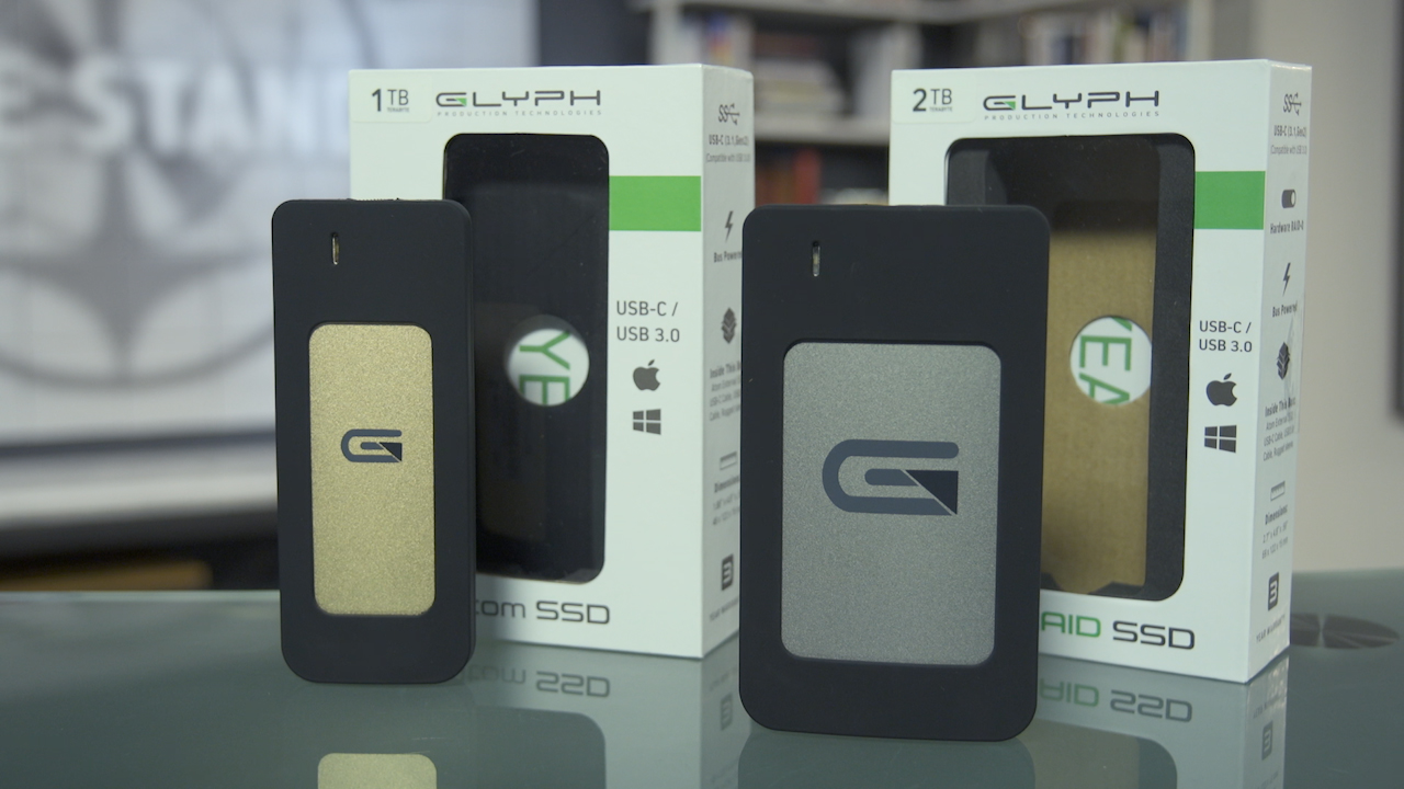 Video: Glyph's Atom SSD and Atom RAID SSD portables drives are super fast