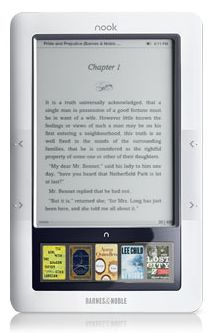 The Barnes and Noble Nook offers one thing the Kindle doesn't: support for public-library e-books.
