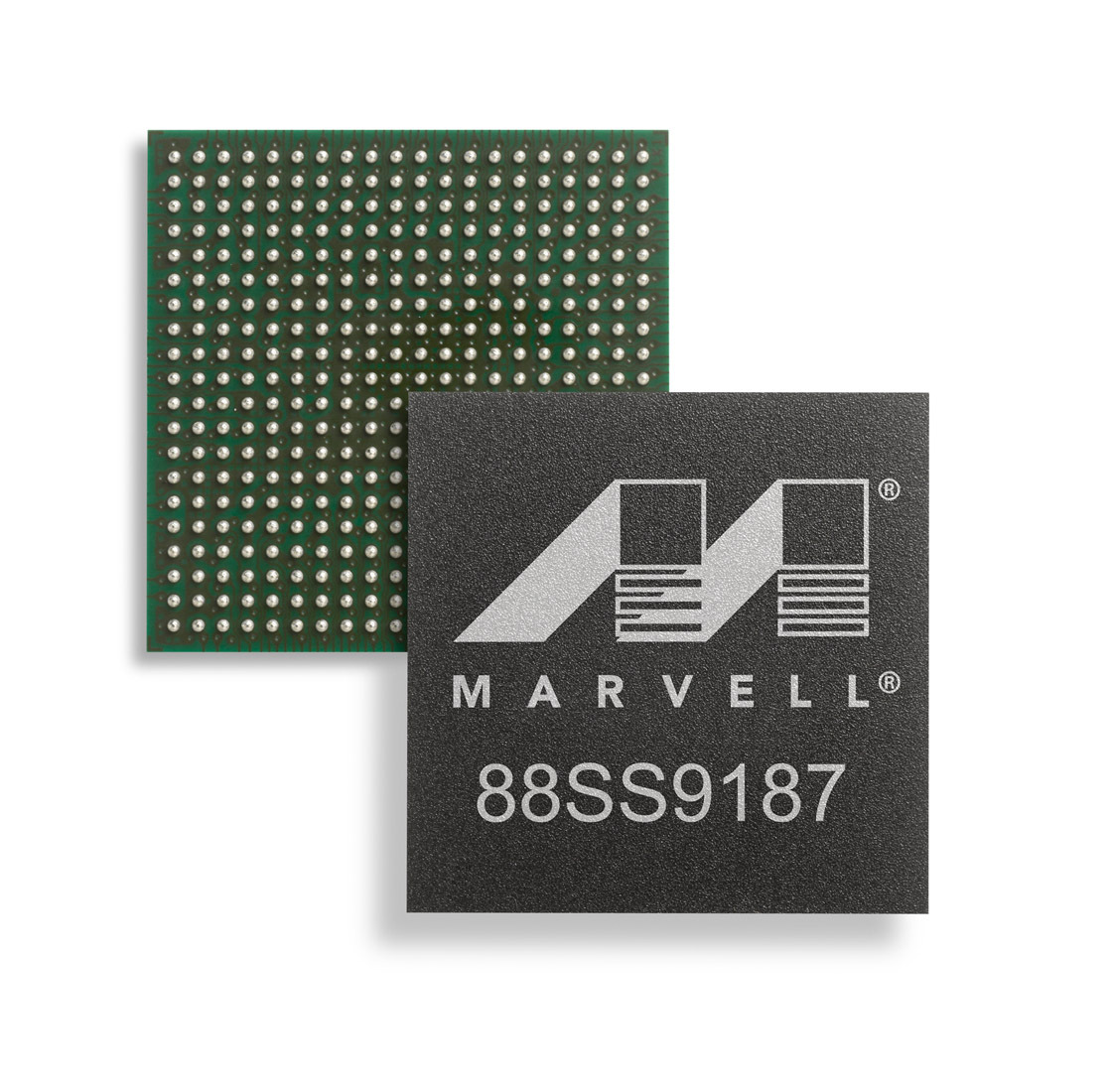 The new  88SS9187 SATA controller chip from Marvell