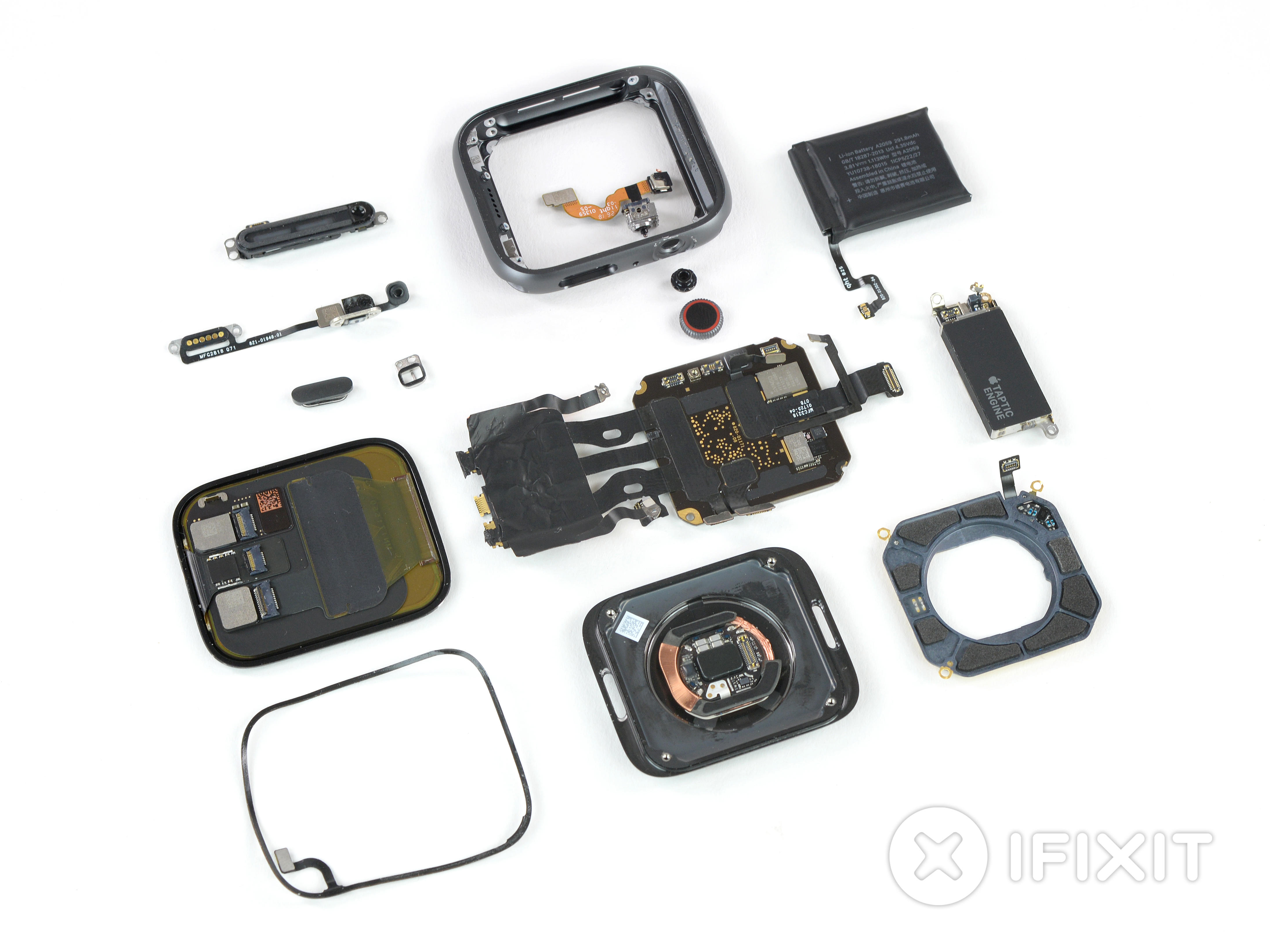 ifixit-apple-watch-4-complete-components