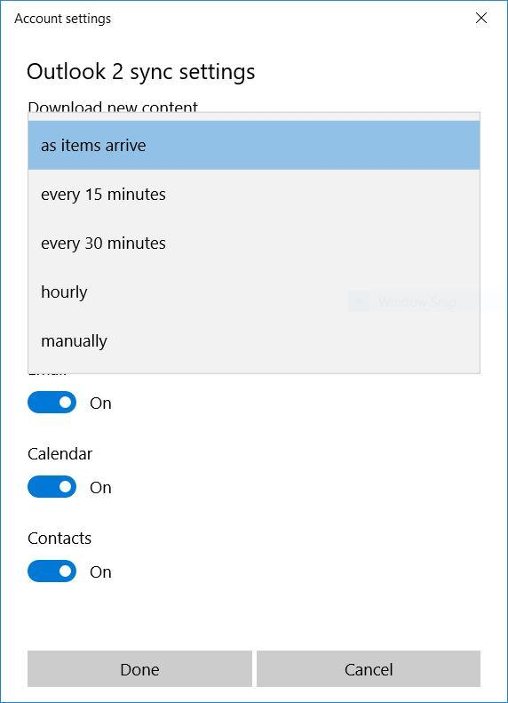 email-sync-settings