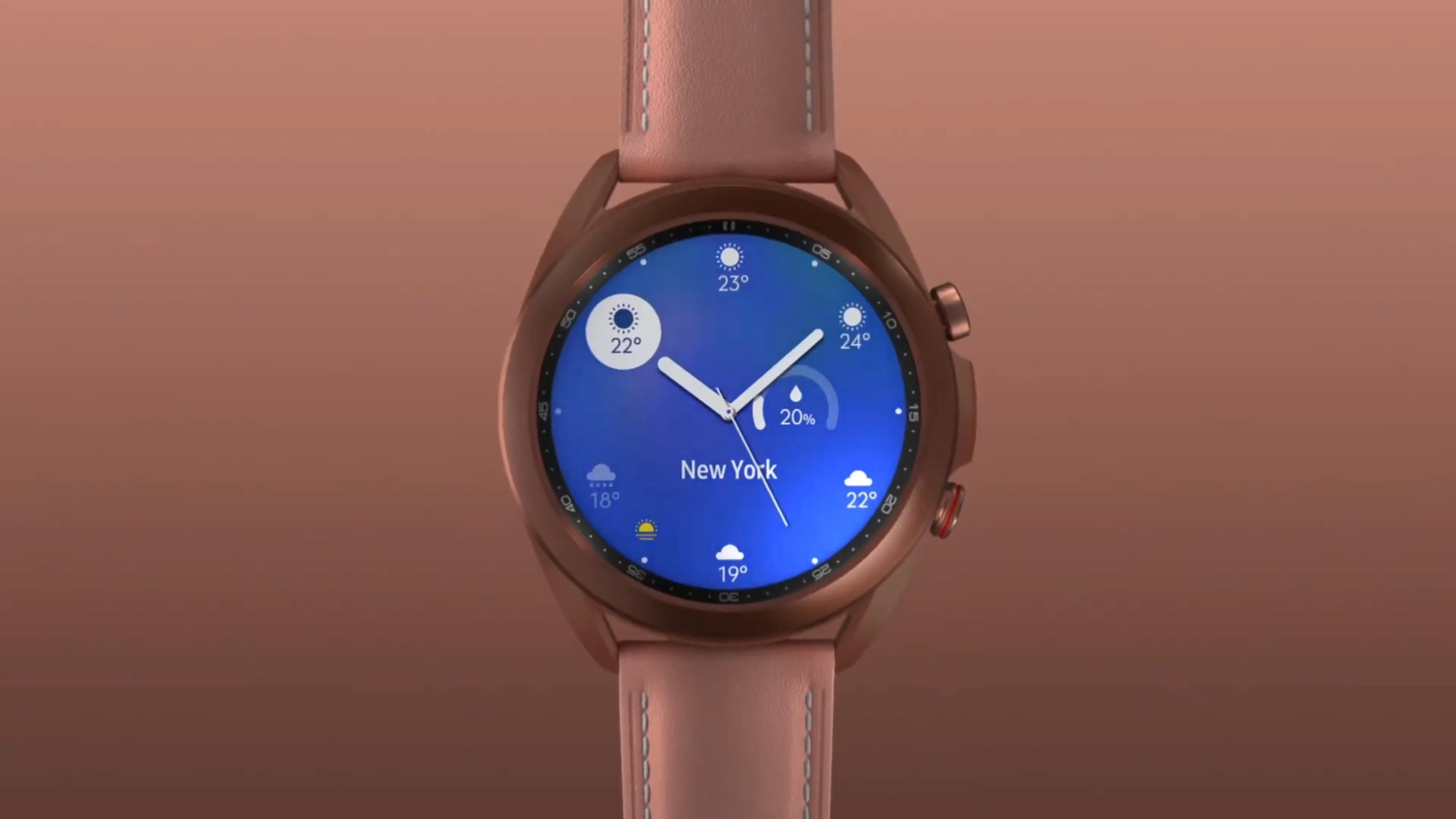 Video: The Galaxy Watch 3 looks great, but some health features will have to wait