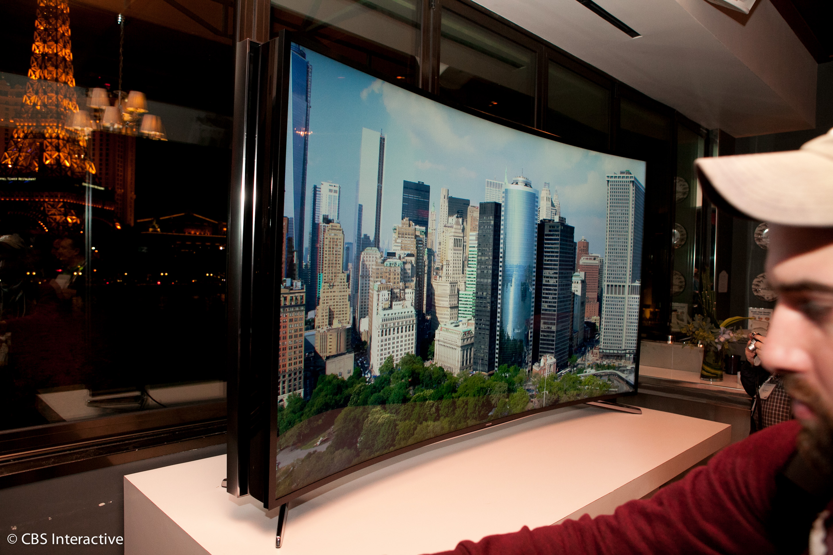 Samsung 85U9B bendable TV