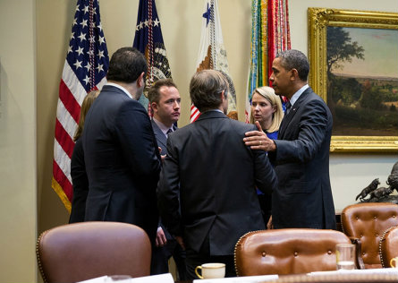 Marissa Mayer meets President Obama at the White House